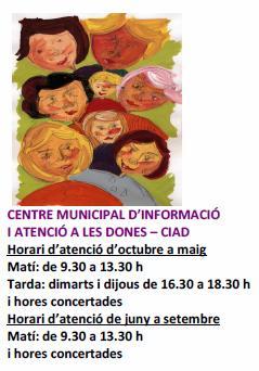 CENTRE MUNICIPAL D'INFORMACIÓ I ATENCIÓ A LES DONES