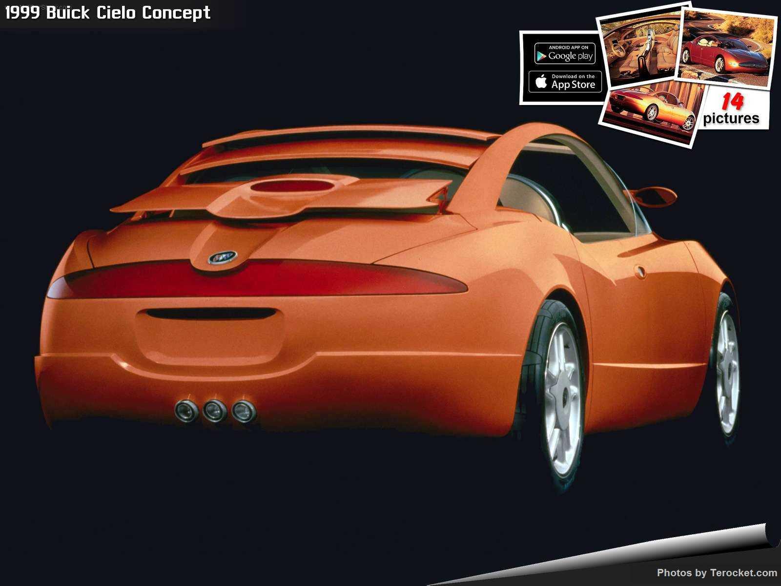 Hình ảnh xe ô tô Buick Cielo Concept 1999 & nội ngoại thất