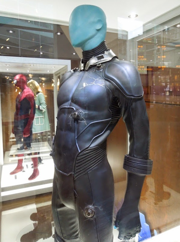 Jamie Foxx Electro costume Amazing Spider-man 2