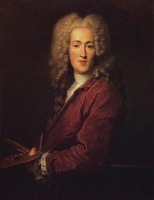 Nicholas Lancret, Self Portrait, 1720