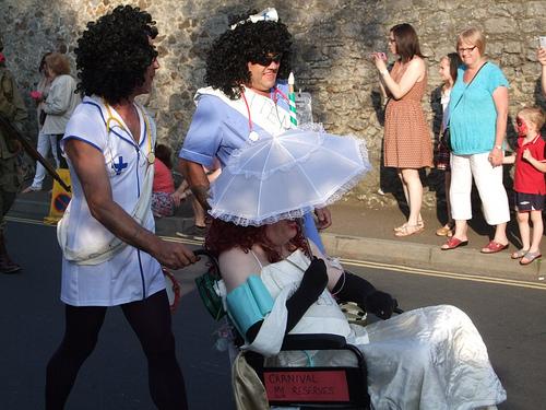 Chudleigh Carnival, Devon, UK