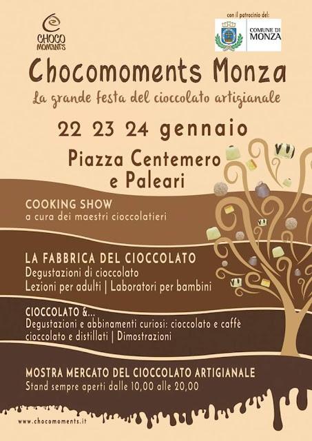 Chocomoments Monza dal 22 al 24 gennaio Monza