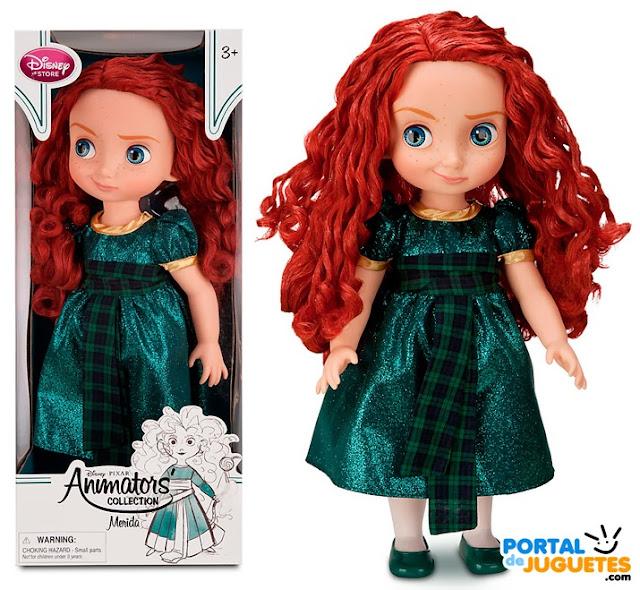 muñeca merida coleccion disney animators nueva edicion