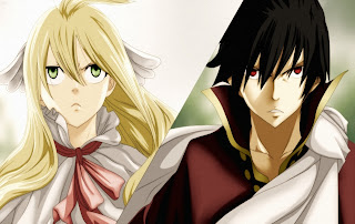 Mavis Zeref Fairy Tail Anime HD Wallpaper Desktop PC Background 2024
