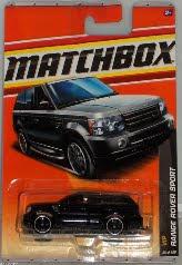 Matchbox VIP 2011- Range Rover Sport Black, 1:64 Scale