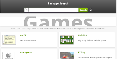 openSUSE AppStore Games