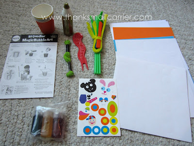 Magic Bubble Art Kit review