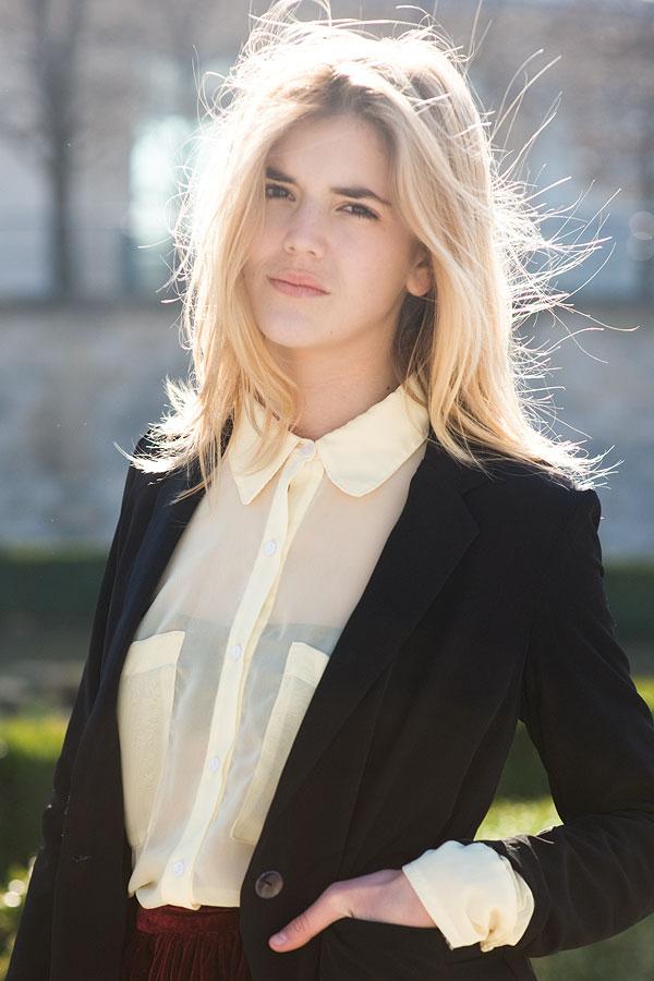 Vanessa Jackman: Paris Fashion Week AW 2011.Ruby
