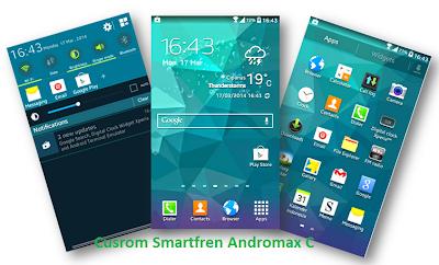 Cusrom Smartfren Andromax C Feel Like Samsung Galaxy S5 Kitkat ...