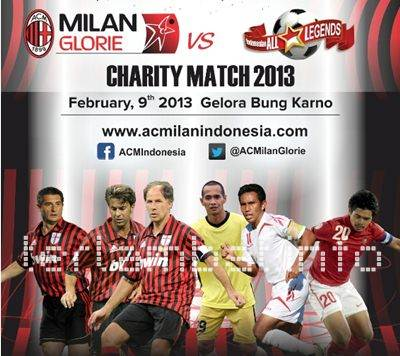 Indonesia VS Ac Milan Glorie 2013