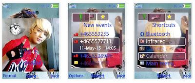 BAP SonyEricsson手機主題for Elm/Hazel/Yari/W20﹝240x320﹞