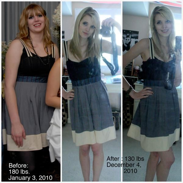 Teen Before and After Weight Loss