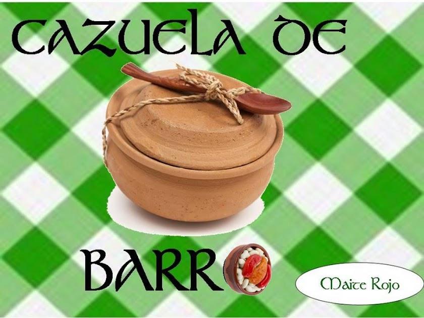 CAZUELA DE BARRO
