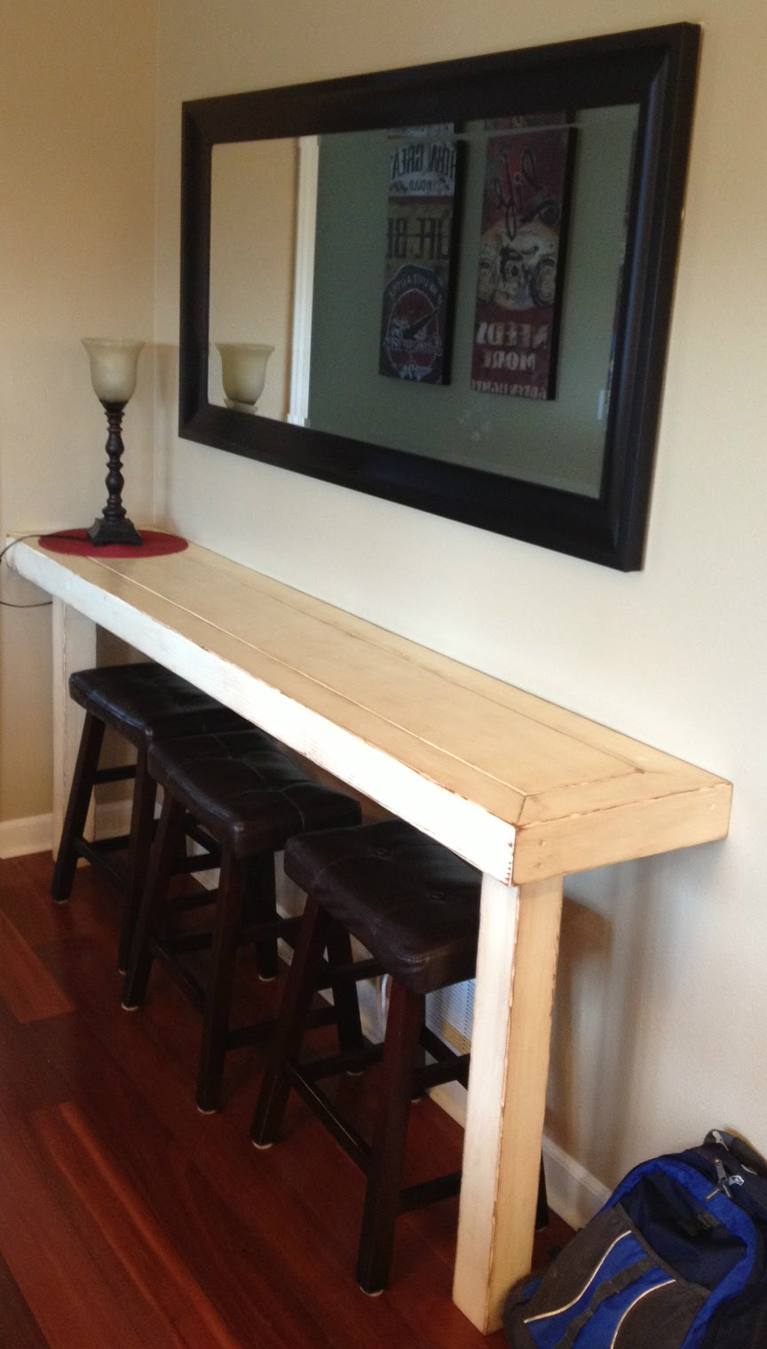 8ft Farm Table Dad Built This: Farmhouse Snack Bar - Buffet