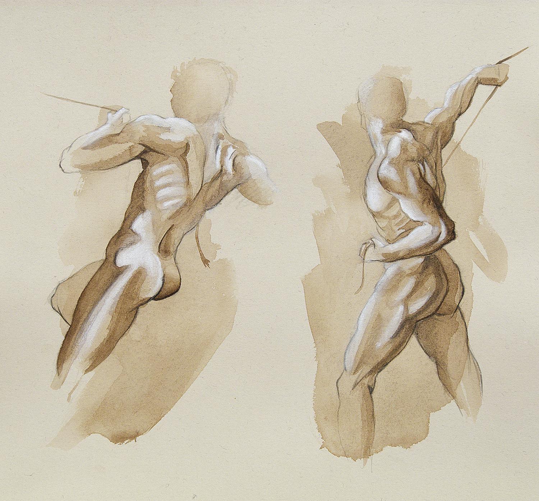 Taller de Arte Juan Herrera: Estudios y variaciones sobre dibujos de ...