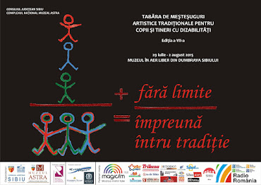 Tabăra de meșteșuguri artistice tradiționale pentru copii și tineri cu dizabilități