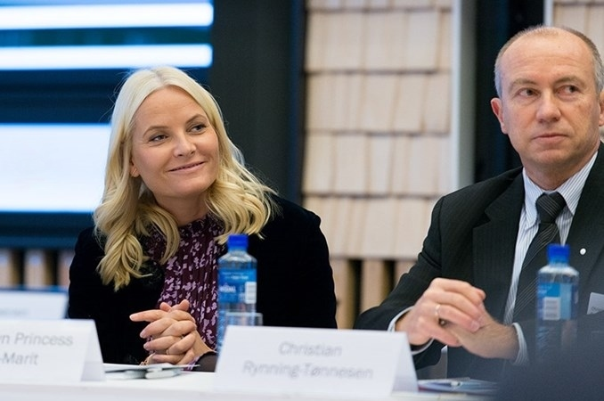 Crown Princess Mette Marit attended Statskraft's Climate Roundtable