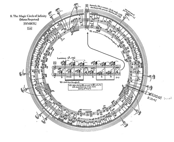 George Crumb – Makrokosmos I: Part II: VIII. The Magic Circle of Infinity (Leo)