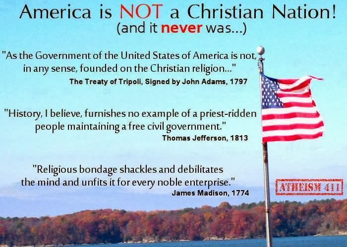 5 Reasons America Is Not—And Has Never Been—A Christian Nation