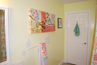 Yellow Walls With Art