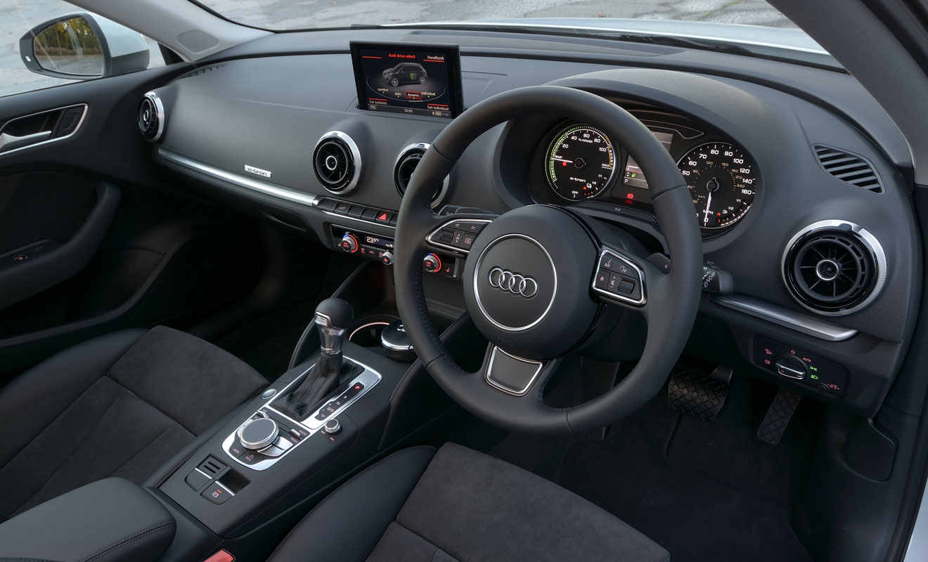 Better than never: Audi A3 e-tron driven