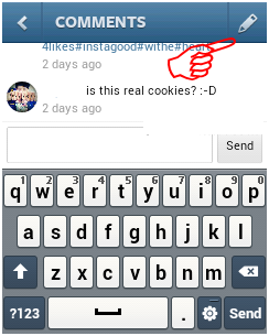 How to Delete Comments Instagram On Android 2