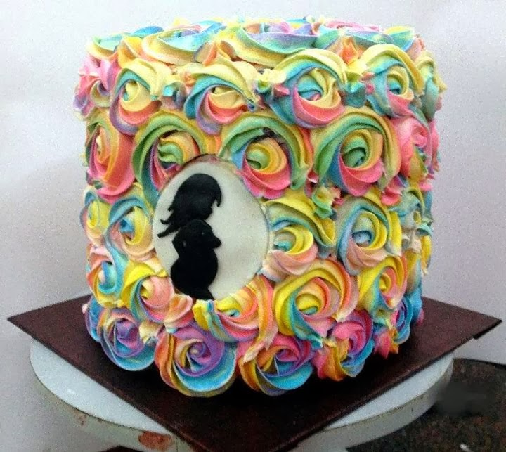 Rainbow Cake For Holi Recipes Wiki