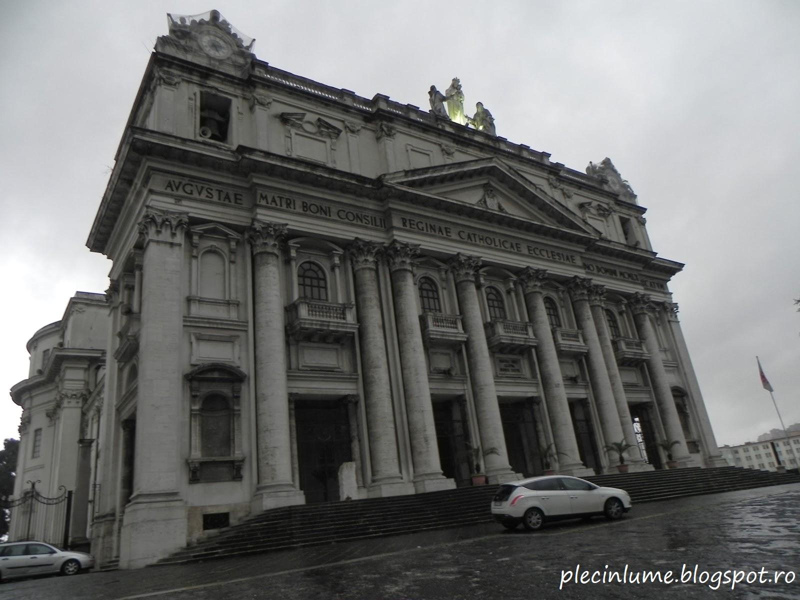 Biserica la intrarea in catacombe
