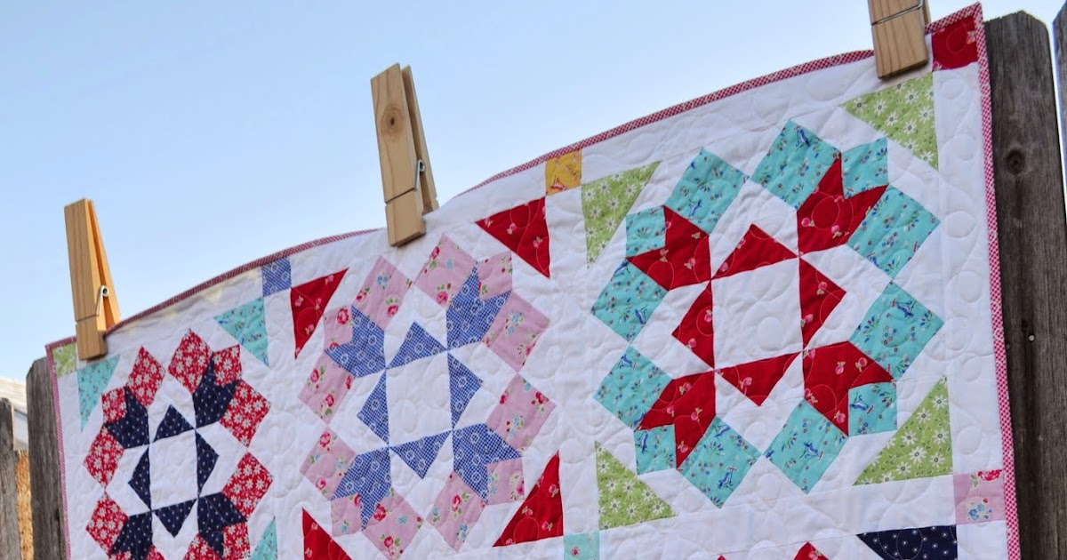 New Quilt Patterns For 2015 : Porch Swing Quilts: Friday Finish: Flower, a new Porch Swing Quilts pattern