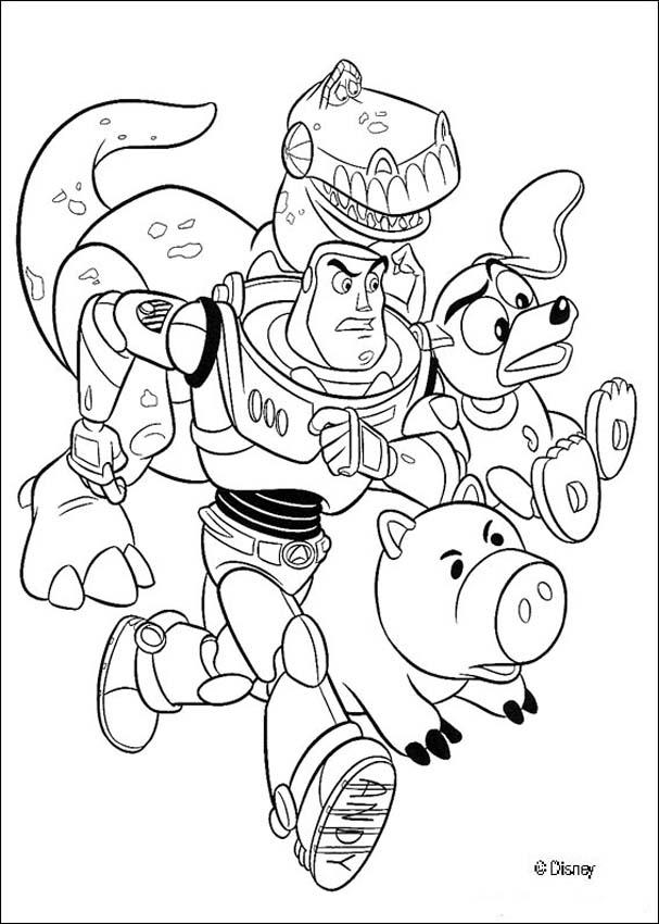 toy story 3 coloring sheets