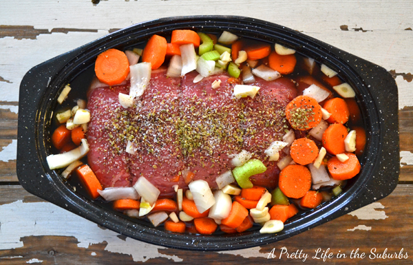 The Perfect Pot Roast {A Pretty Life}