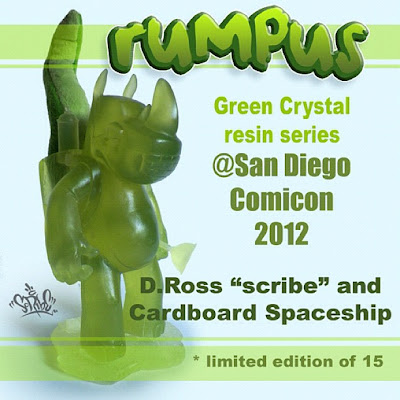 San Diego Comic-Con 2012 Exclusive Green Crystal Rumpus Resin Figures by Scribe
