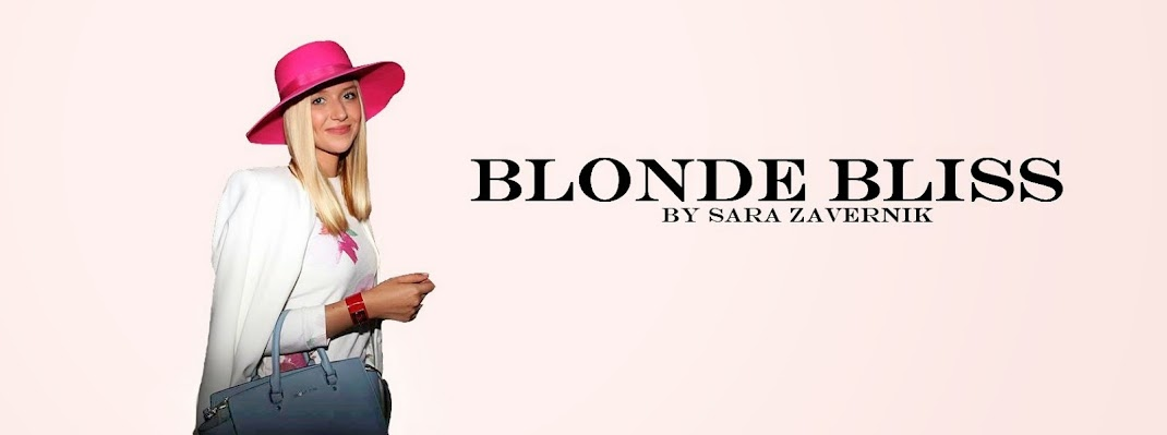 Blonde Bliss by Sara Zavernik
