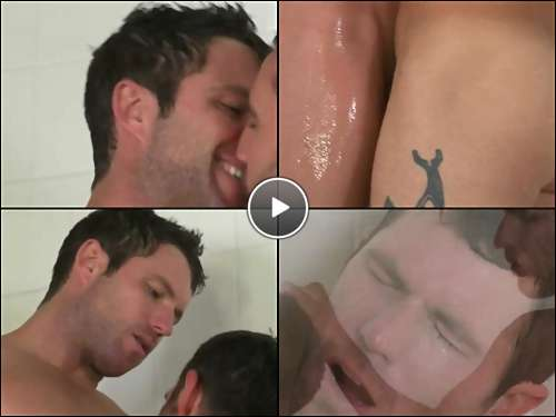 gay guy shower video