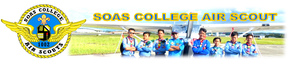 SOAS COLLEGE AIR SCOUT