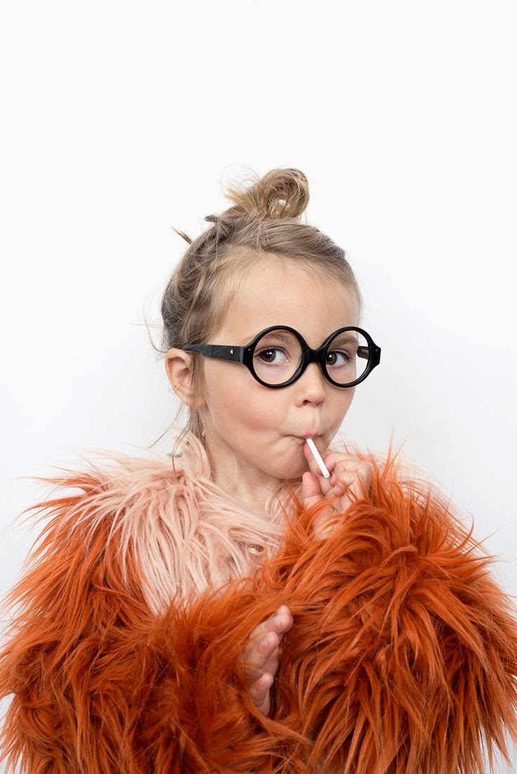 Black kids glasses by Very French Gangsters and Bobo Choses Jacket - Autumn-Winter 2014/15