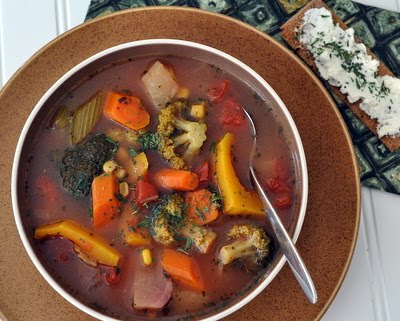 How to Make Homemade Vegetable Soup