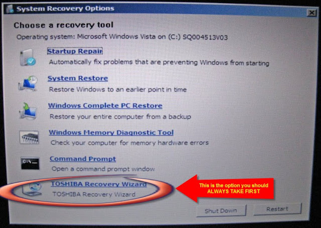 How to recover data after Windows computer system restore