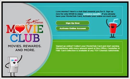 TGV Cinemas Movie Club Khas Untuk Kaki Wayang