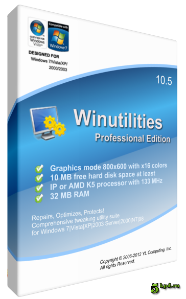 WinUtilities Professional Edition 11.31 With Keygen Find4something