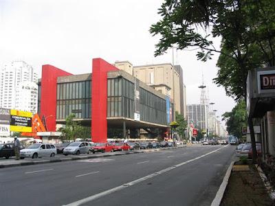MASP na Av. Paulista - São Paulo - SP