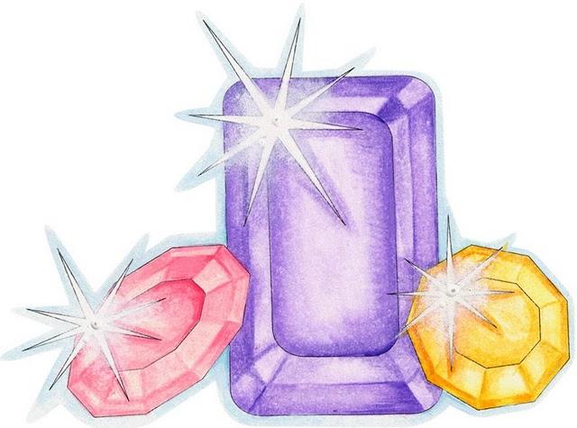 Dibujos coloreados piedras preciosas imagenes y dibujos - Dibujos de piedras ...