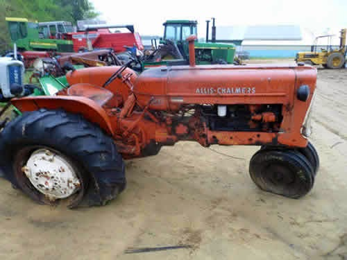 allis chalmers d17 tractor parts