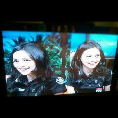4 Foto Rini Feblita, Si Cantik Imut Crew TRANS TV