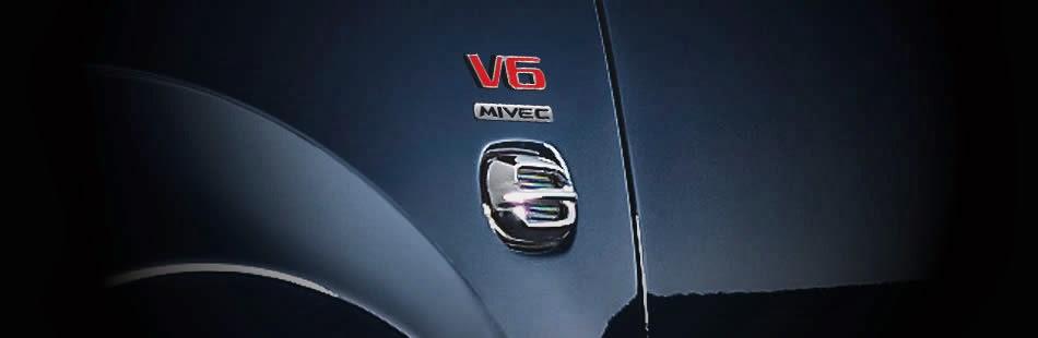 V6 Mivec Emblem
