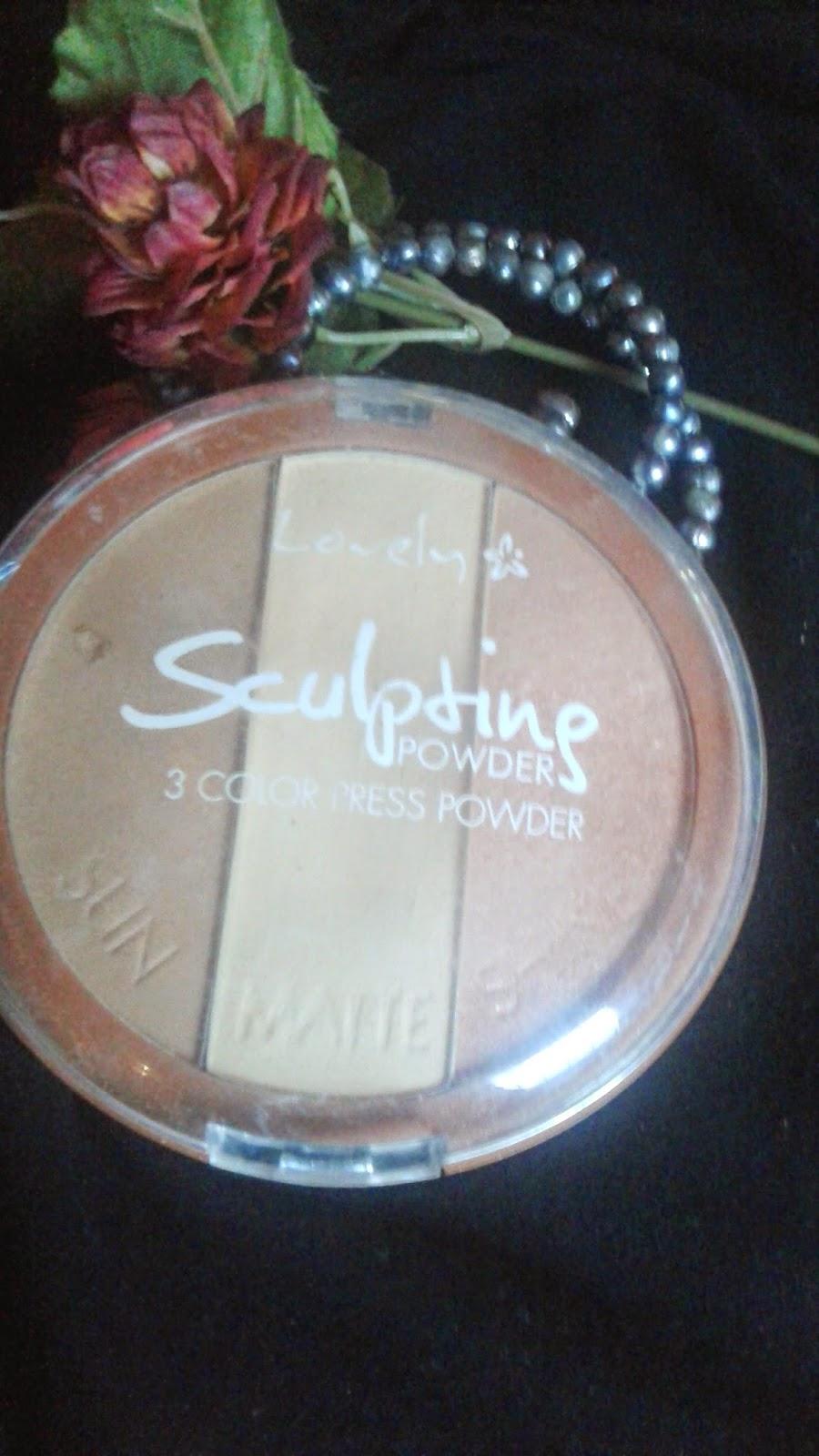 Top 10 kosmetyków... #8 Lovely Sculpting Powder 3 Colors Press Powder