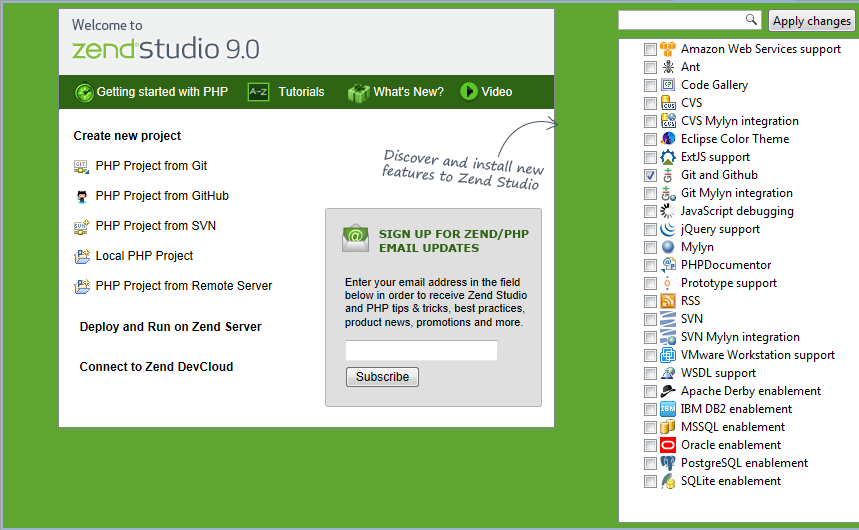 Zend studio plus 3 years of upgrade and support