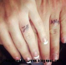 Wedding Ring Tattoos on Pinterest  Couple Tattoo Ideas Finger