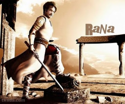 Rajinikanth Rana Movie Wallpapers