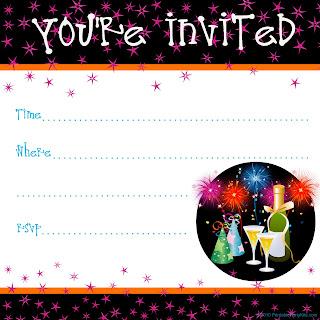 convites para festas de fim de ano